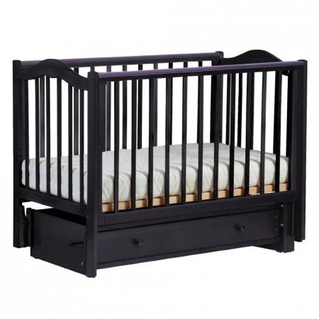 Детская кроватка Кубаночка-1   - шоколад