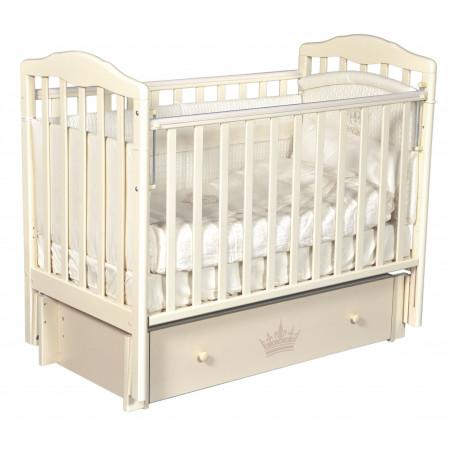 """Детская кроватка Daniella """"Версаль"""" (универсальный маятник) - слон. кость"""
