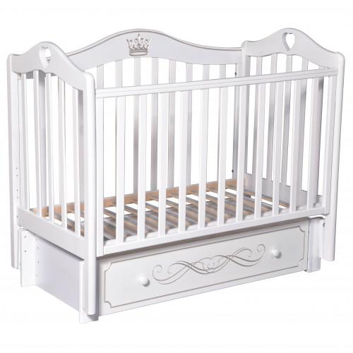 Кроватка детская Karolina 8 маятник, ящик