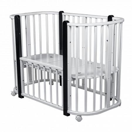 Кровать детская 5/1 PITUSO Asti  - Белый-Венге