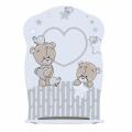 Кровать детская FOREVER FRIENDS (колесо-качалка)