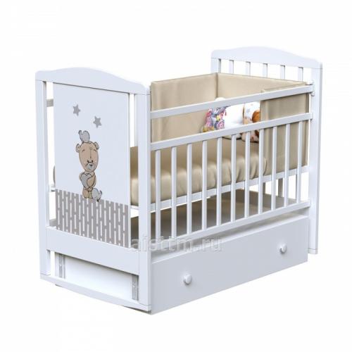 Кровать детская LOVE ME (маятник-ящик)