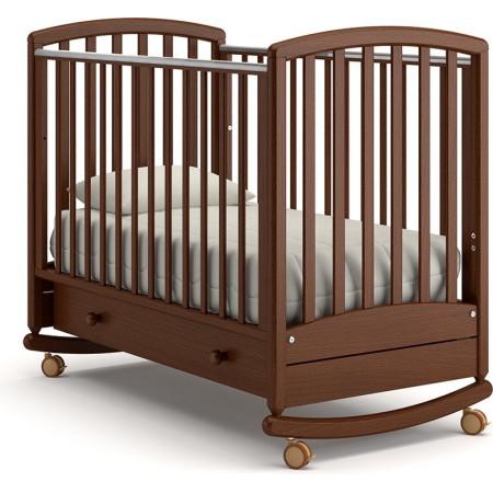 Детская кроватка Гандылян Дашенька качалка   - Орех