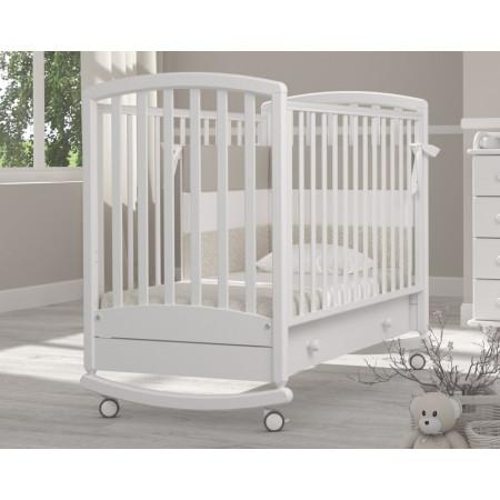 Детская кроватка Гандылян Дашенька качалка   - белый