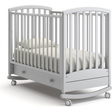 Детская кроватка Гандылян Дашенька качалка   -  Белая ночь