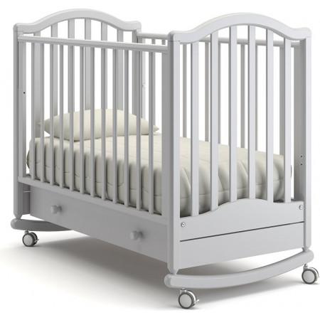 Детская кроватка Гандылян Лейла качалка   -  Белая ночь