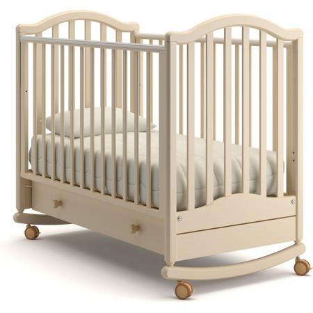 Детская кроватка Гандылян Лейла качалка   - слоновая кость
