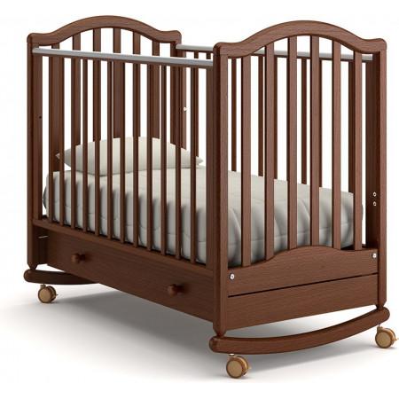 Детская кроватка Гандылян Лейла качалка   - Орех