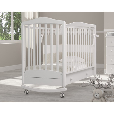 Детская кроватка Гандылян Симоник качалка   - белый
