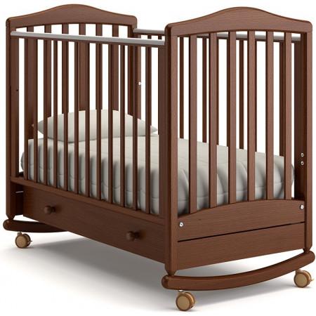 Детская кроватка Гандылян Симоник качалка   - Орех