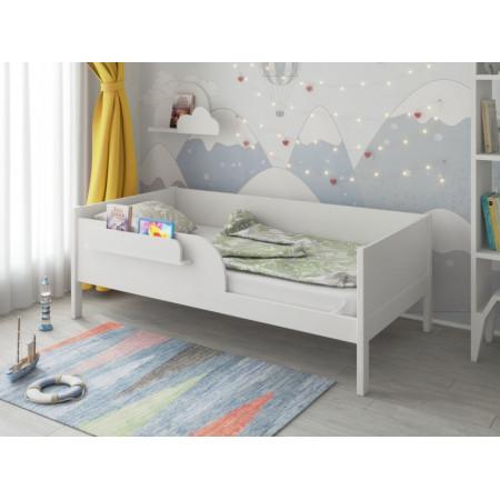 Кроватка подростковая MALIKA ASTRID 160х80 см - белый
