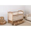 Кровать детская «Incanto Sofi» с сердечком и с ящиком