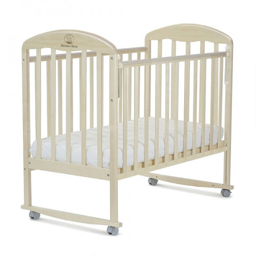 Кроватка детская ВЕНЕЦИЯ (колесо, качалка, автостенка)