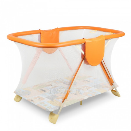 Манеж детский АРЕНА NEW - оранжевый