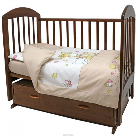 """Комплект постельного белья """"Детский мир"""" - бежевый"""