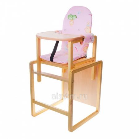 """Стол-стул для кормления """"Бутуз"""" - розовый"""