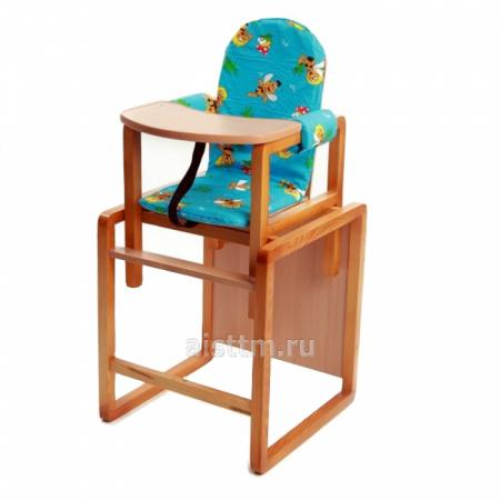 "Стол-стул для кормления ""Бутуз"" - голубой"