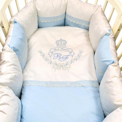 Комплект в кроватку Rich Family 6 предметов
