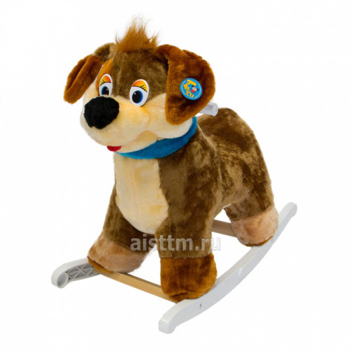 Качалка мягкая Собака весельчак