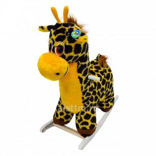 Качалка мягкая Жираф