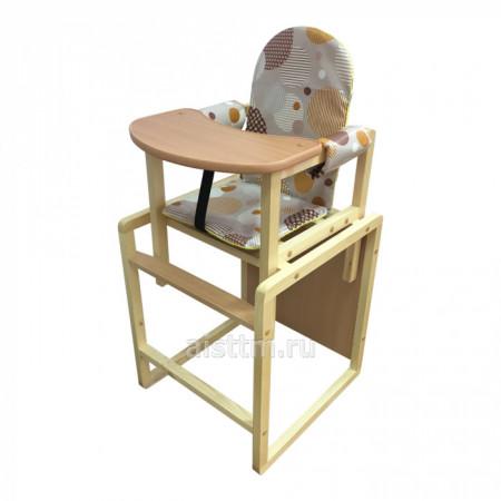 Стол-стул для кормления БУТУЗ ПЛЮС - диско бежевый