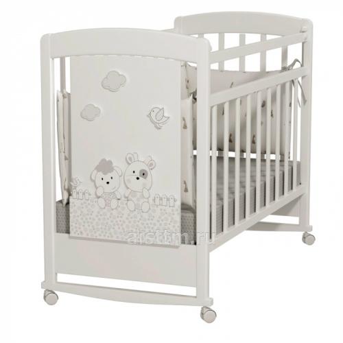 Кровать детская Fattoria Prima (колесо-качалка)