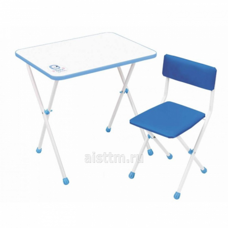 Комплект складной мебели УМКА ФАНТАЗЕР - голубой