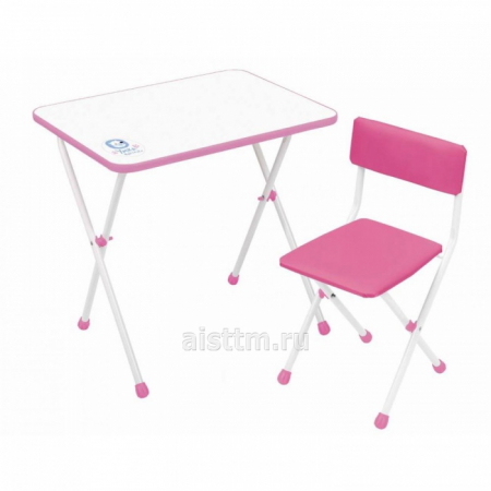 Комплект складной мебели УМКА ФАНТАЗЕР - розовый