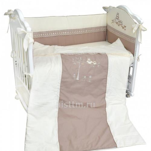 Комплект в кроватку 4 предмета ADELINA