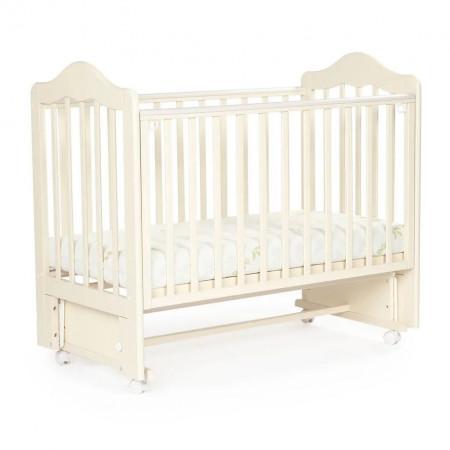 Детская кровать BEBIZARO FILLMORE колесо-маятник - Ванильный