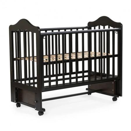 Детская кровать BEBIZARO FILLMORE колесо-маятник - Венге