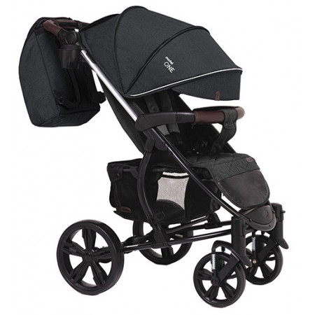 Коляска прогулочная Bubago Model One - темно-серый