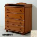 """Комод детский """"Аистенок"""" КО-2003-1 декор мишка"""