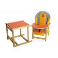 "Стол-стул для кормления ""Солнышко"""