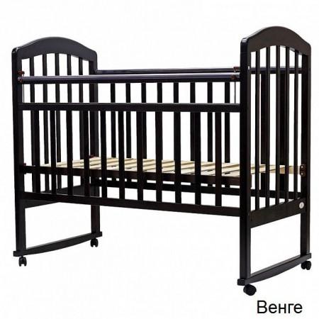 """Детская кроватка """"ЛИРА""""-2 кол/качалка - Венге"""