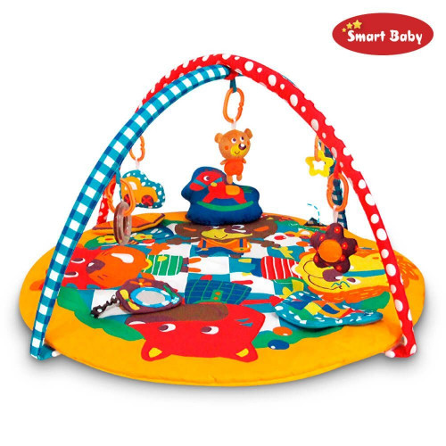 Развивающий коврик Smart Baby Вечеринка зверей