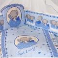 Комплект в кроватку СЛОНИК БОНЯ (7 предметов)