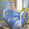 Комплект в кроватку ЕЖИК ТОПА ТОП ( 8 предметов)