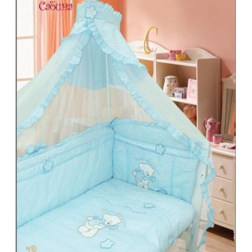 Комплект в кроватку САБИНА  (7 предметов)