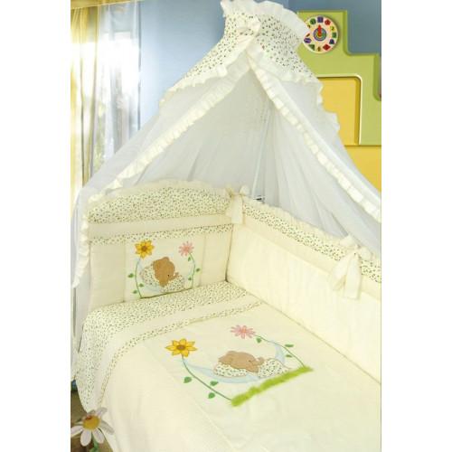 """Комплект в кроватку """"Сладкий сон"""" 7 предметов"""