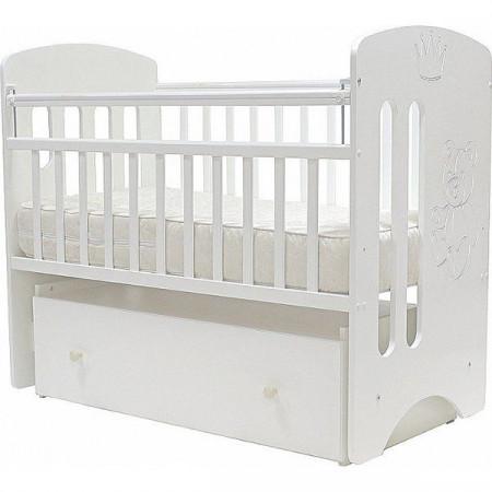 """Кроватка детская """"Каролина"""" - белый"""
