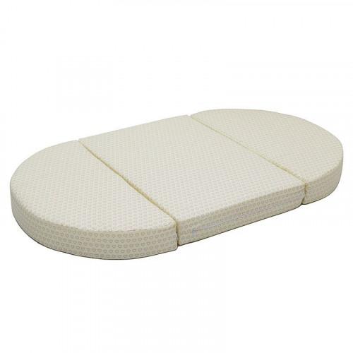Матрац-трансформер в круглую и овальную кроватку 3 части. (холкон)