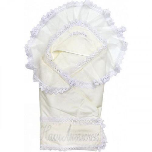 Одеяло с уголком на выписку Топотушки Ангелочек