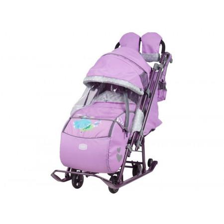 Санки-коляска Ника Детям 7-4 (НД7-4) - 01