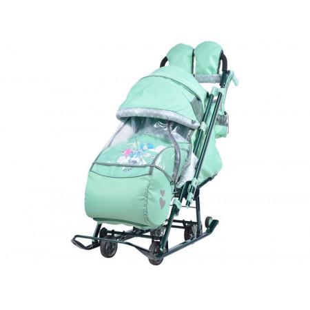 Санки-коляска Ника Детям 7-4 (НД7-4) -  blue