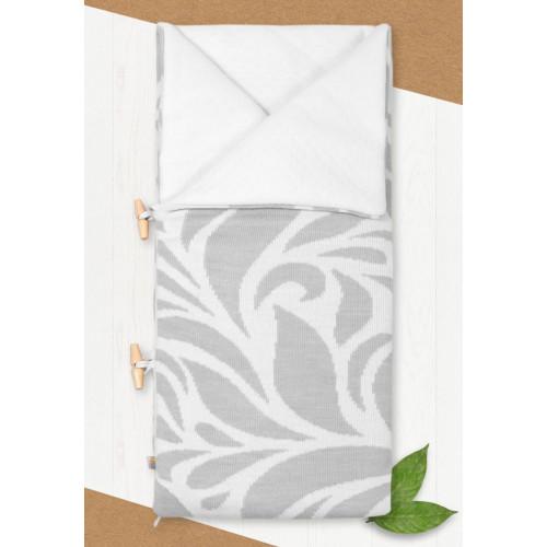 Конверт-одеяло на выписку Миндаль