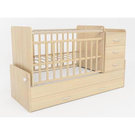 Детская кроватка трансформер СКВ 5 53403 маятник