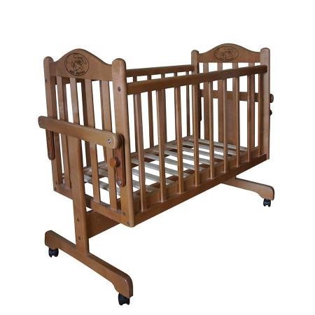 Кровать-колыбель Мой малыш MM14 - орех