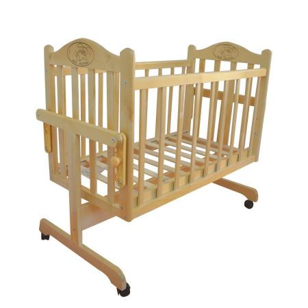 Кровать-колыбель Мой малыш MM14 - светлый