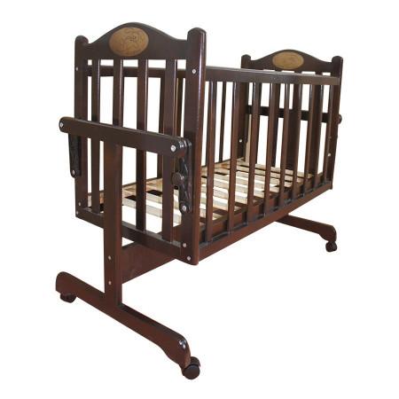Кровать-колыбель Мой малыш MM14 - темный